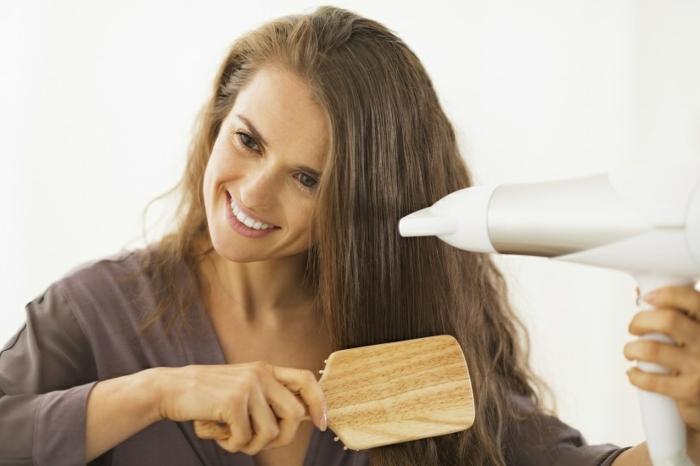 fettige haare problem lösen tipps haar trocknen