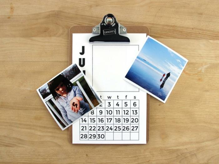 fotokaleder geschenkideen selber machen fotos