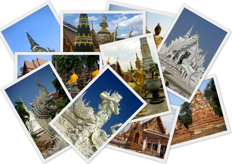 günstige Europareisen Postkarten schicken