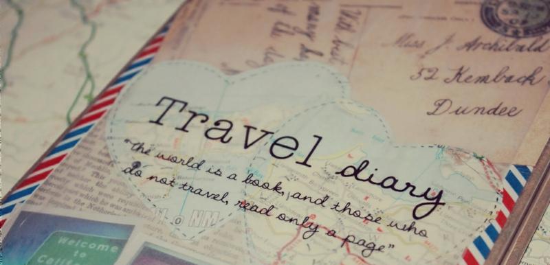 günstige Europareisen Tagebuch führen Erinnerungsstücke sammeln