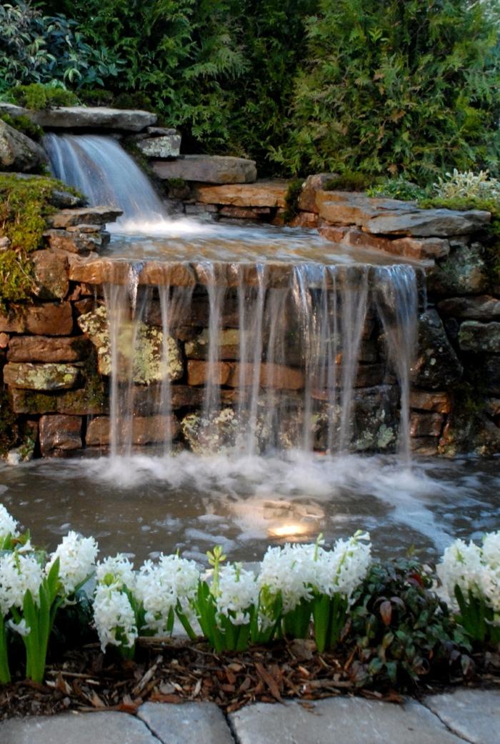 Wasserfall im garten selber bauen 99 ideen wie sie die - Wasserfall garten selber bauen ...