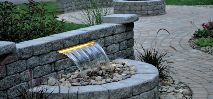 Wasserfall Dusche Garten : Wasserfall Dusche Selber Bauen : Wasserfall im Garten selber bauen und