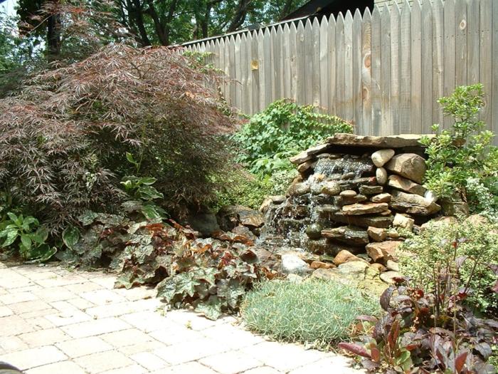 garten steinmauer selber bauen – motelindio, Gartenarbeit ideen