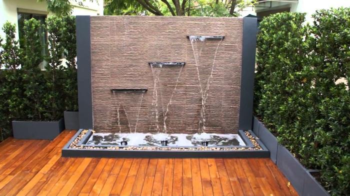 wasserfall im garten selber bauen und die harmonie der natur genie en. Black Bedroom Furniture Sets. Home Design Ideas