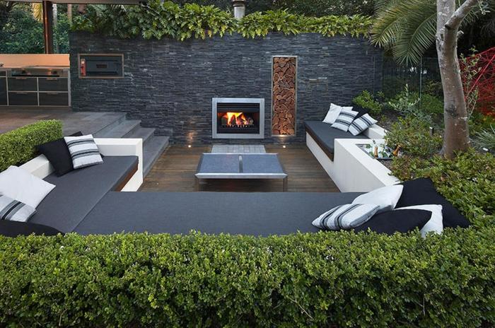 Gartenplanung 44 gartengestaltungsideen und deko zum selberbasteln for Gartengestaltung feuerstelle