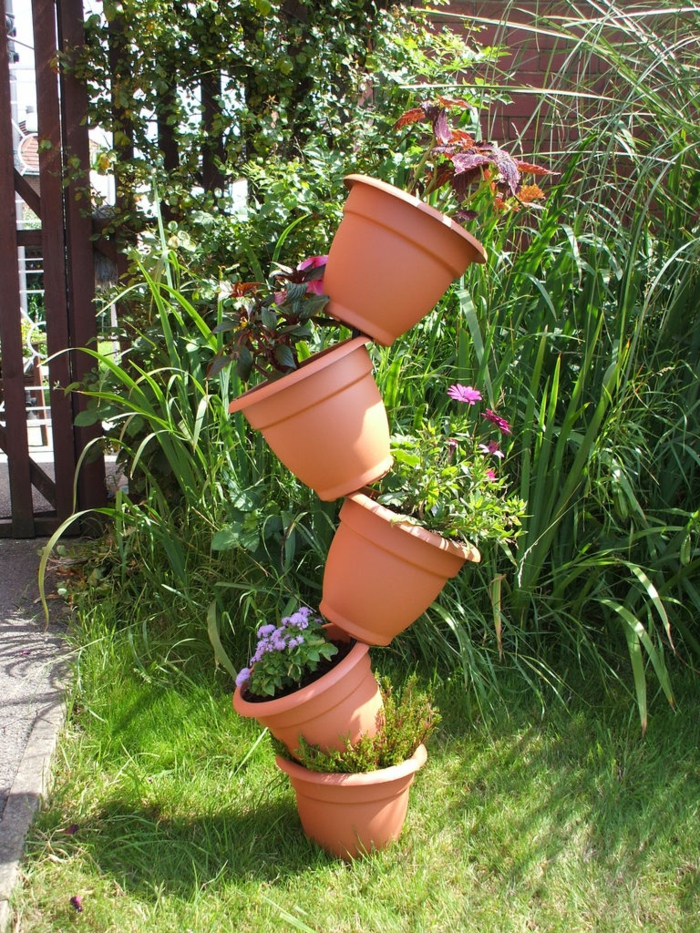 Gartenplanung 44 gartengestaltungsideen und deko zum - Gartenideen pflanzen ...