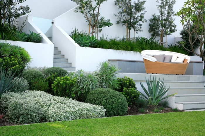 Gartenplanung 44 gartengestaltungsideen und deko zum for Moderne gartenideen