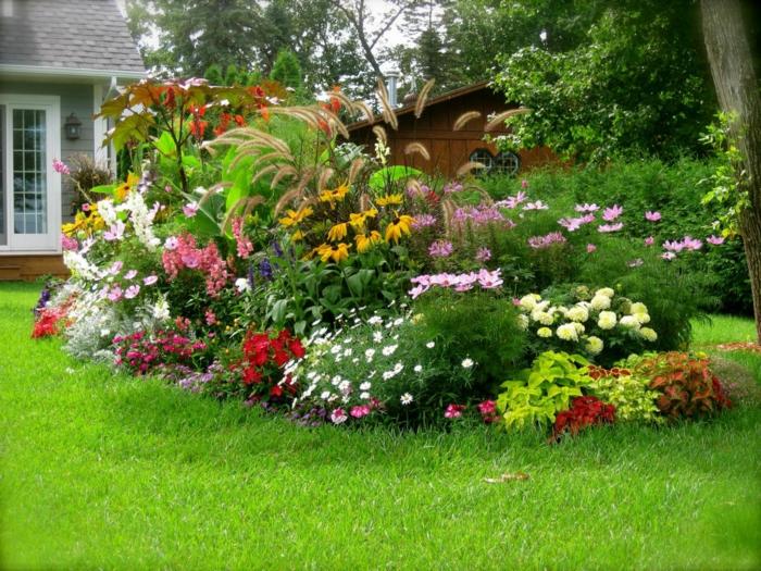 Gartenplanung 44 gartengestaltungsideen und deko zum selberbasteln - Gartenideen pflanzen ...