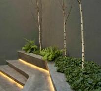 66 Beispiele für Gartentreppe in der modernen Gartengestaltung