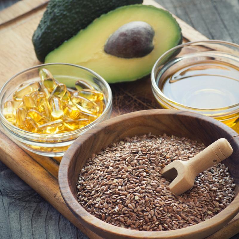 gesunde Ernährung Leinöl Wirkung Omega 3 Fettsäuren