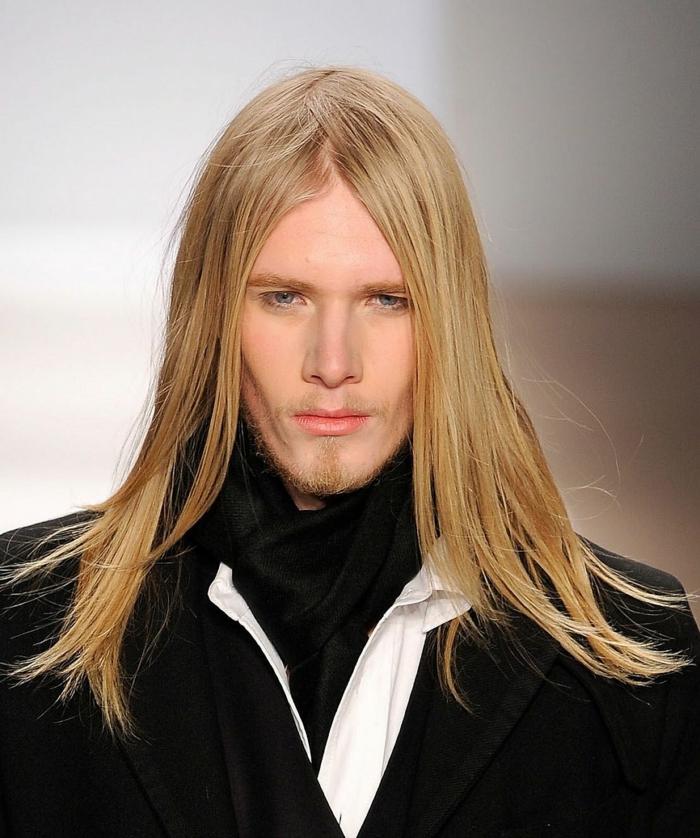 Männer Mit Blonden Haaren Sind Blonde Männer Mit Blauen