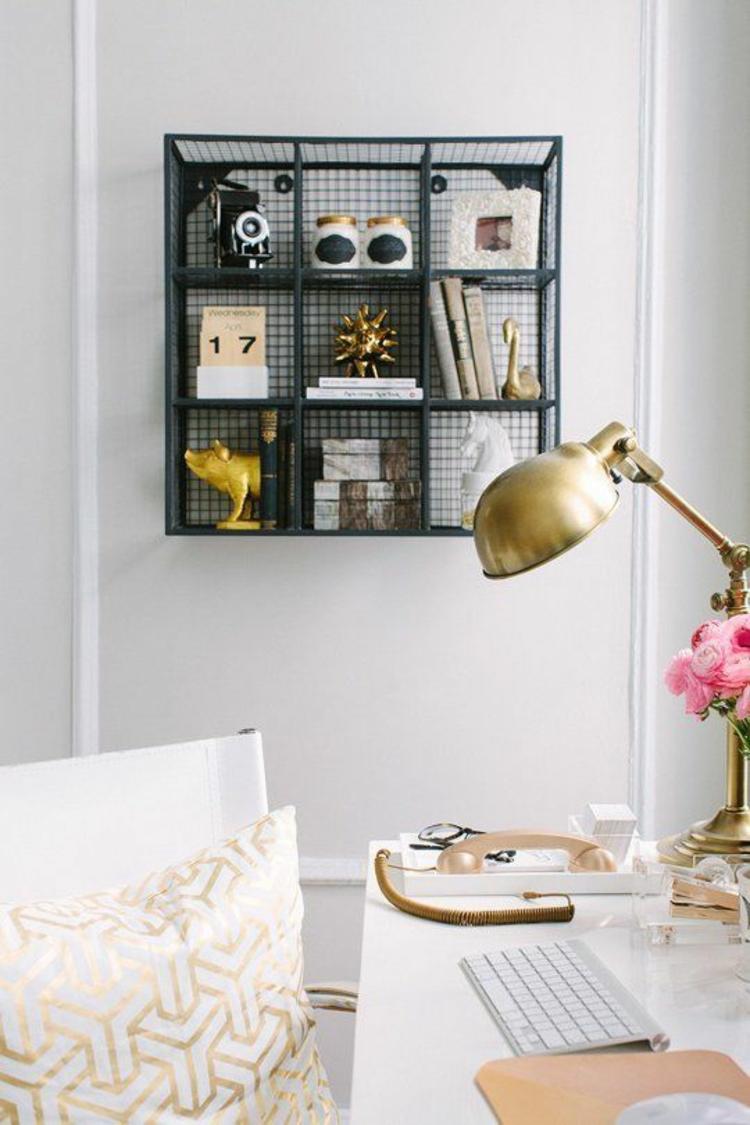skandinavische wohnaccessoires in gold bringen ihre. Black Bedroom Furniture Sets. Home Design Ideas