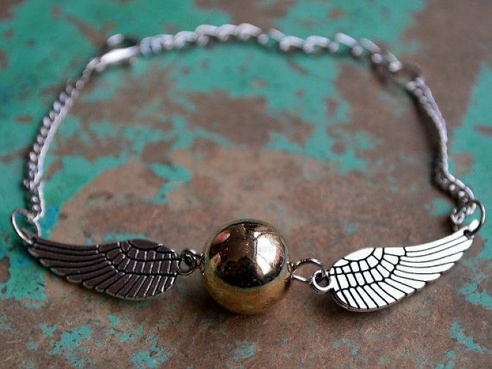 harry potter schmuck armkette gold silber spitzel juwel