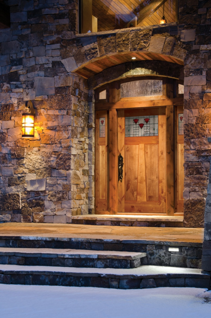 Haustür holz  83 Holztüren für den Hauseingang- Mehr Inspiration für Unentschlossene