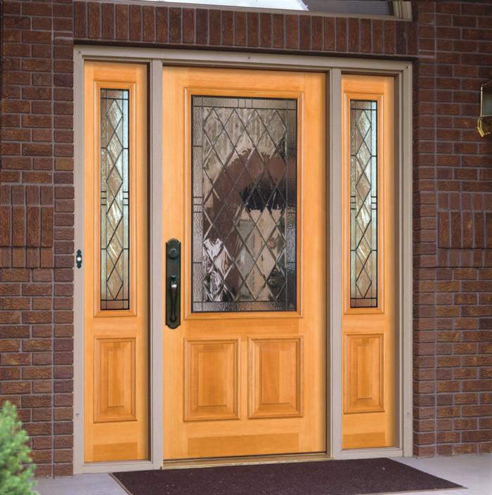 Haustür holz glas  83 Holztüren für den Hauseingang- Mehr Inspiration für Unentschlossene