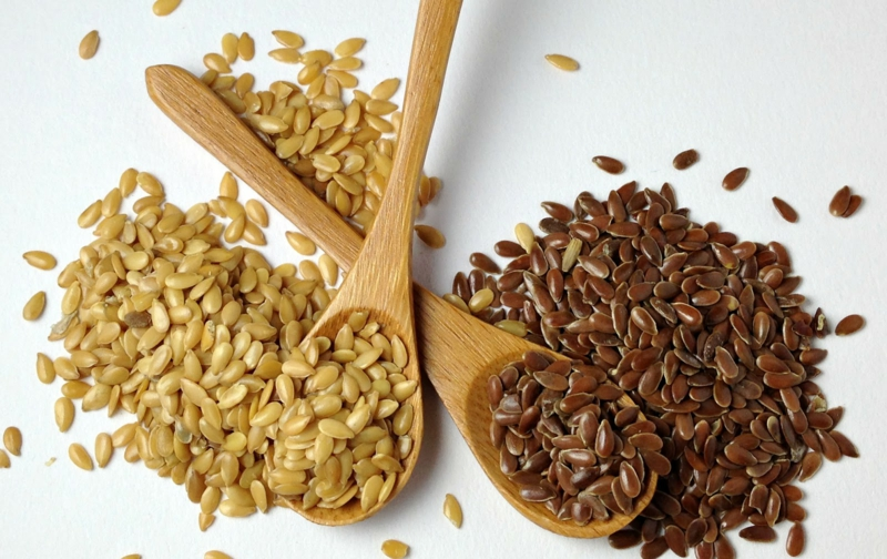 heilende Leinöl Wirkung Omega 3 Fettsäuren Leinen Samen