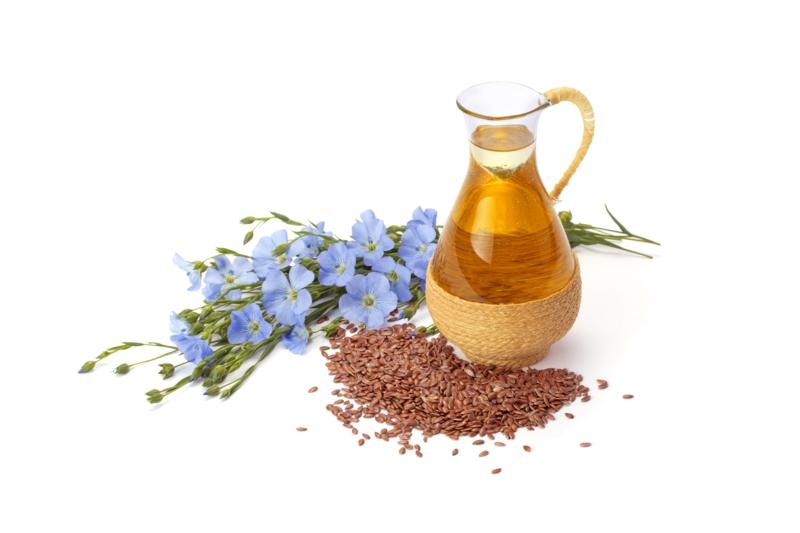heilende Pflanzen Leinöl Wirkung Omega 3 Fettsäuren