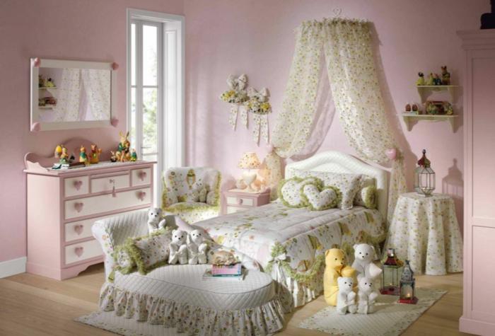 Himmelbett kinder selber machen  Behutsamer Schlaf mit dem besten Himmelbett Vorhang
