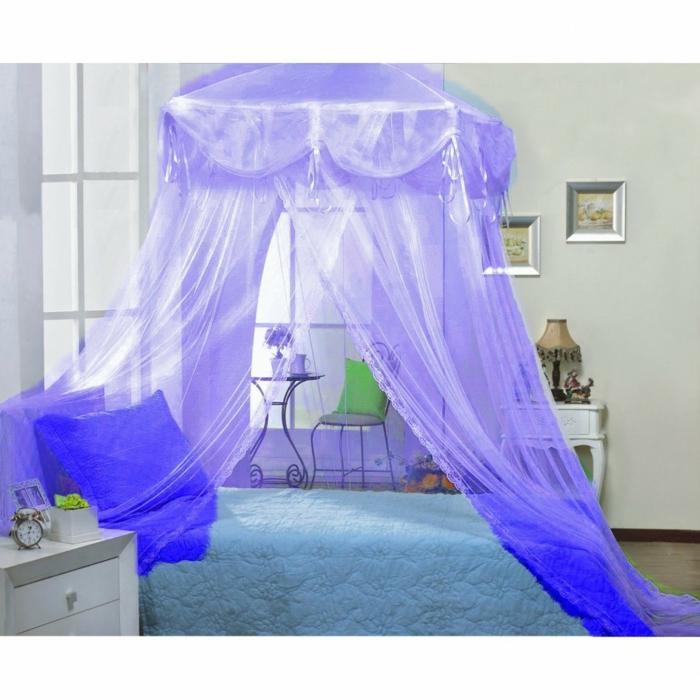 himmelbette Vorhang raumtrenner königlich lila