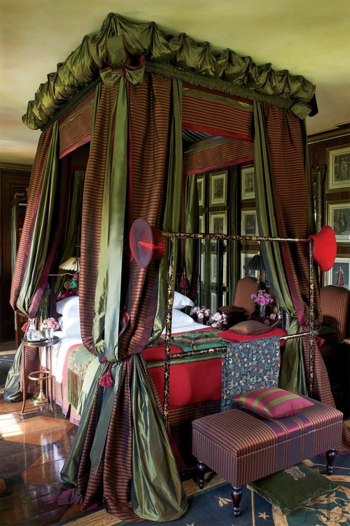 Minimalistisches Himmelbett Vor Wand Mit : Behutsamer schlaf mit dem besten himmelbett vorhang