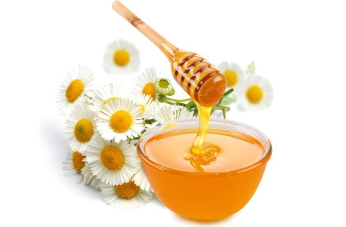 honig im kopf gesund honigpott honiglöffel goldwert löffel feldblumen
