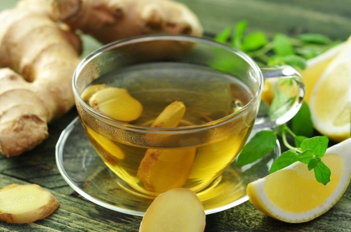 honig gesund mit tee ingwer