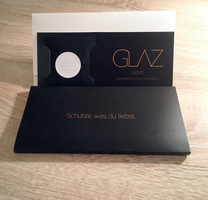 iPhone Display Reparatur GLAZ Verpackung