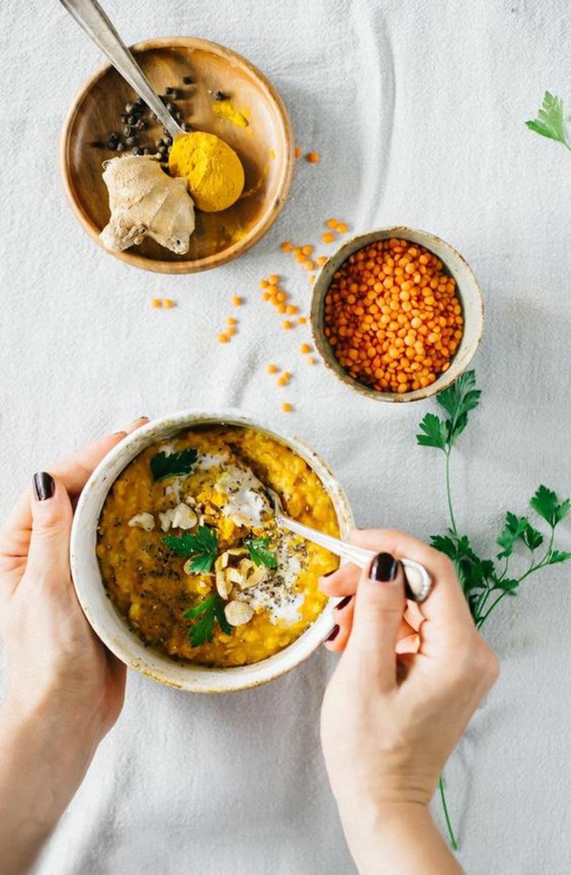indische und pakistanische Küche typische Speisen