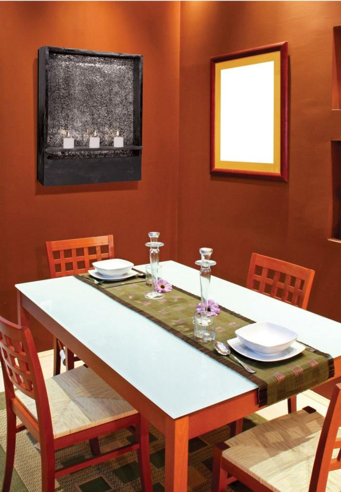 60 Wandfarbe Ideen In Orange U2013 Naturinspirierte Gestaltung Für Alle  Räumlichkeiten ...