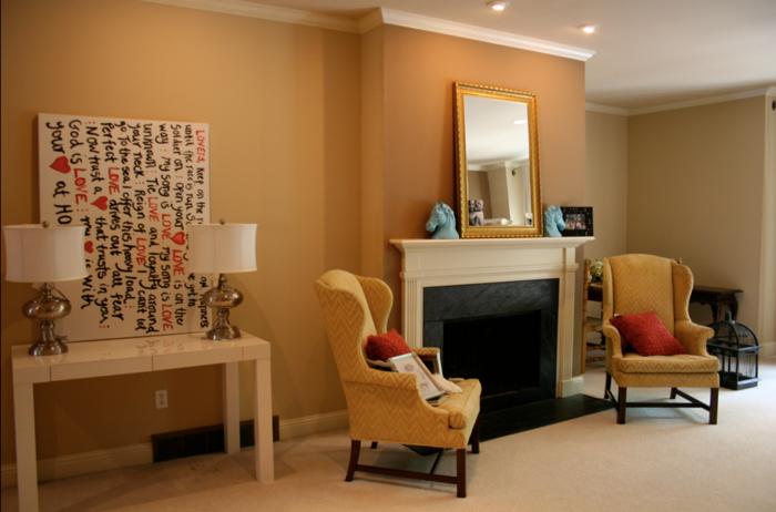 wandfarbe zu kolonialstil interessante. Black Bedroom Furniture Sets. Home Design Ideas