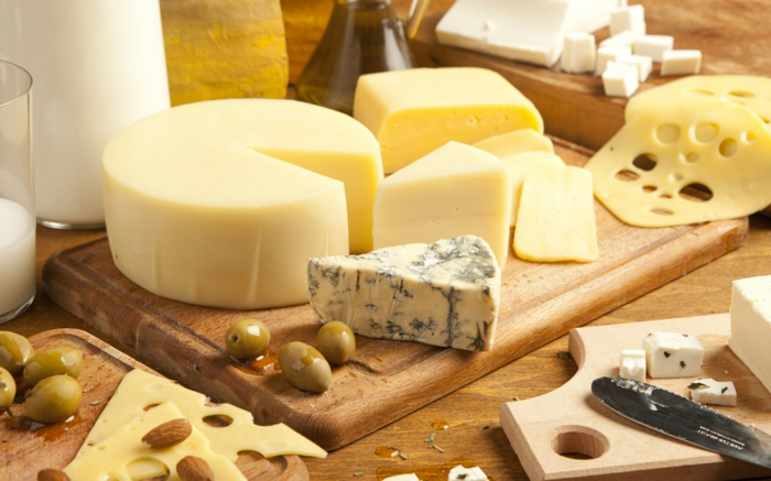 käsesorten schimmelkäse was enthält gesundheit