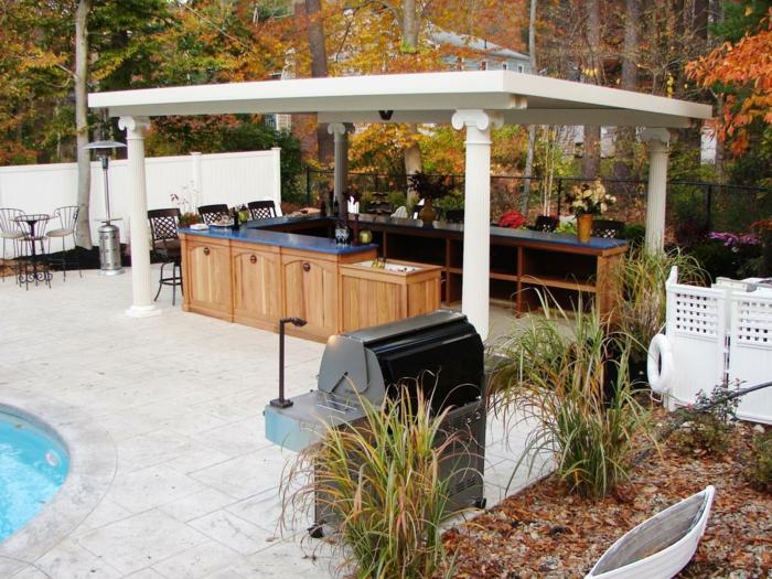 küchenschränke material natürlicher look holztextur pflanzen