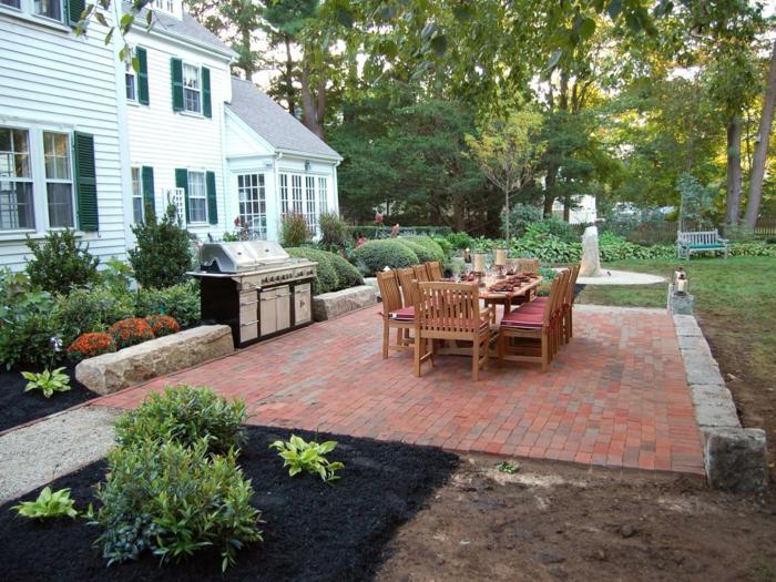 Outdoorküche Garten Edelstahl Blau : Nach der terrasse kommt endlich die outdoorküche grillforum und
