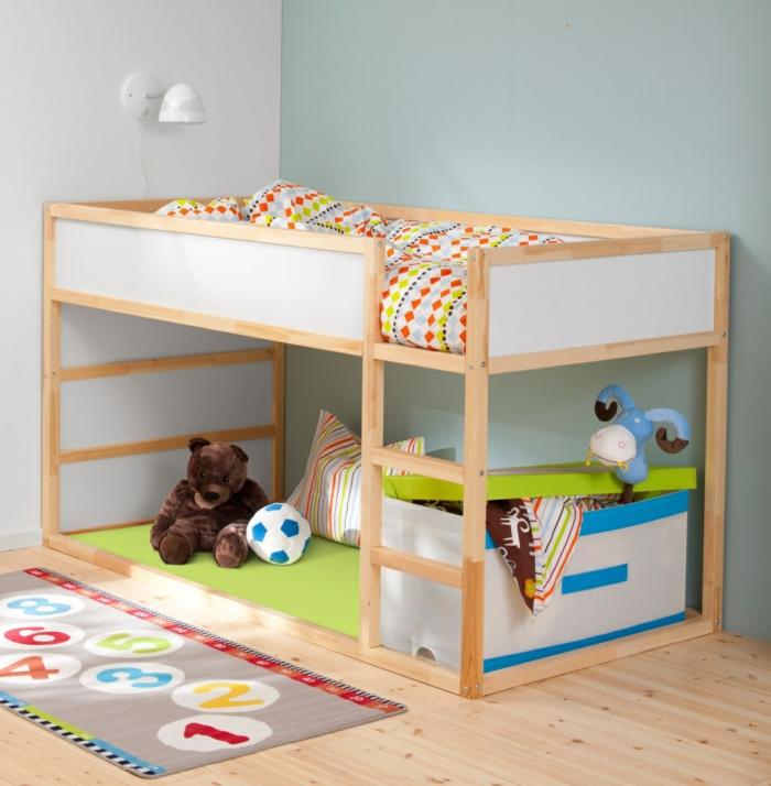 kinderzimmer teppich farbig interaktiv jungenzimmer gestlaten