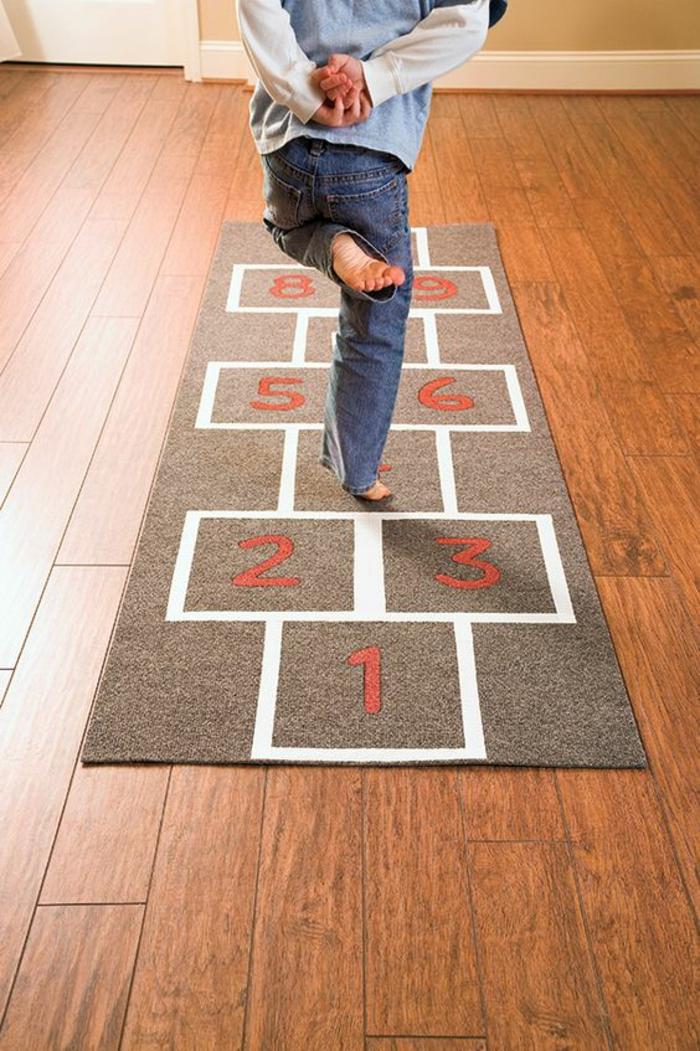 kinderzimmer teppich teppichläufer kreativ multifunktional