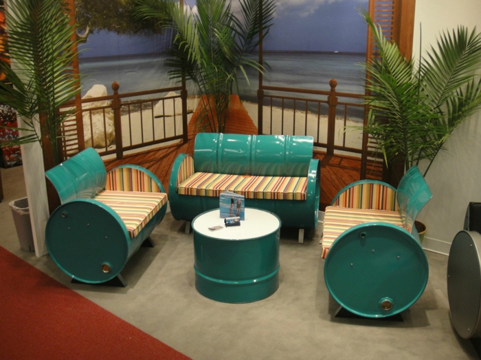 kreative wohnideen mobiliar wiederverwendete materialien