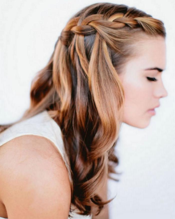 leichte frisuren sommer ideen zopf