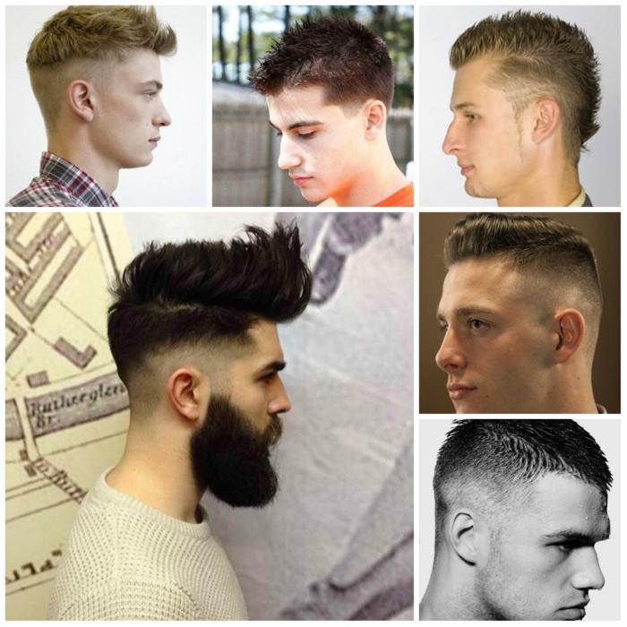 männerfrisuren collage 8 tendenz