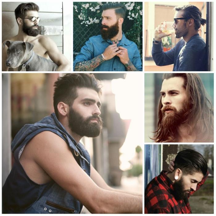 männerfrisuren collage 9 holzfäller