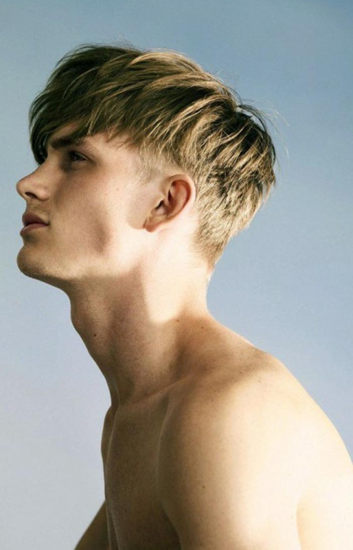 männerfrisuren entschlossen selbsrbewusst knabenhaft frech