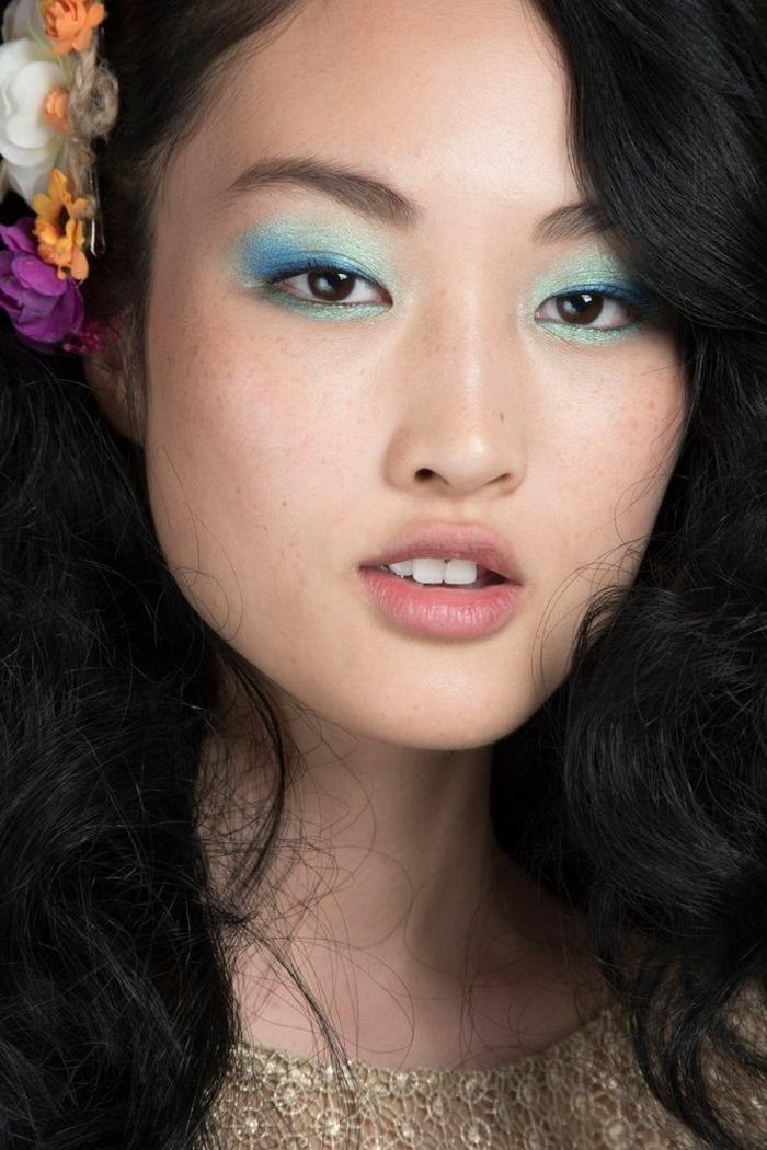 make up tipps augen frische schminkideen