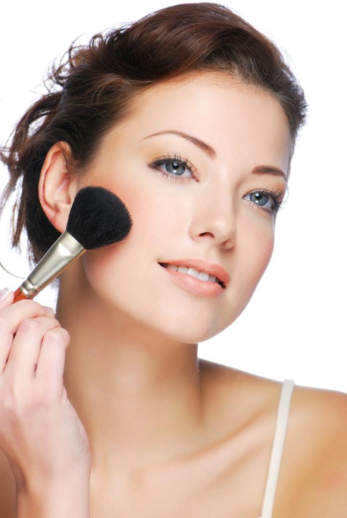 make up tipps bürste putzen