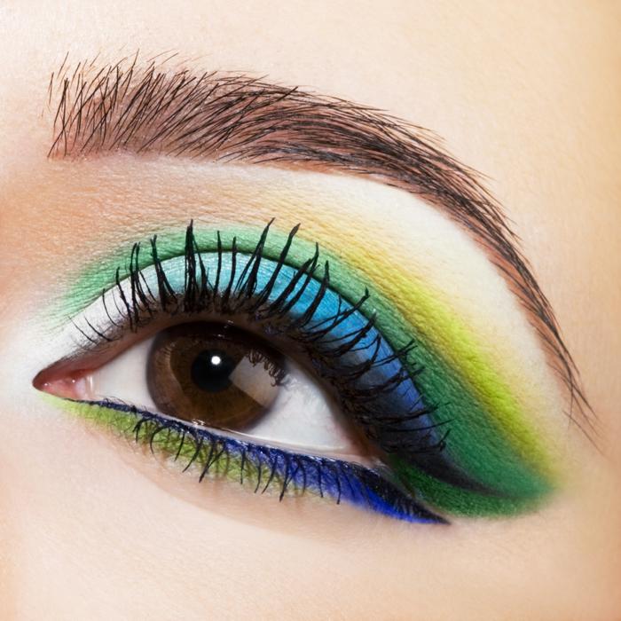 make up tipps tendenzen 2016 augenschminke