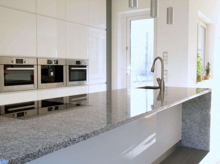 moderne Arbeitsplatte Granit Vorteile Küchengestaltung Ideen
