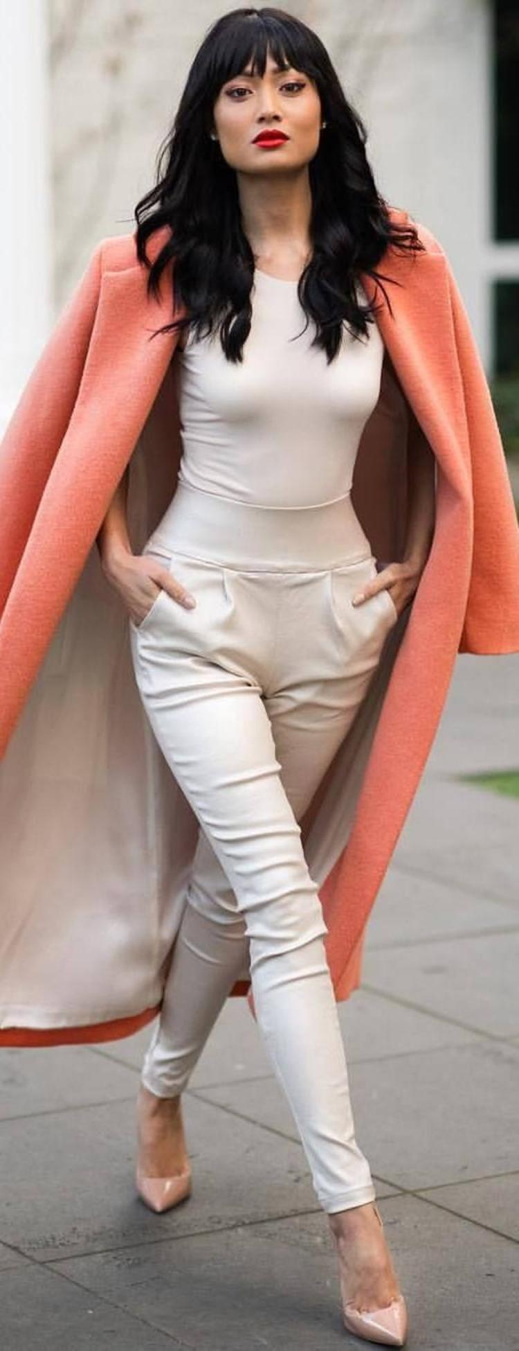 moderne Damenmantel aktuelle Trendfarben 2016 Wintermantel