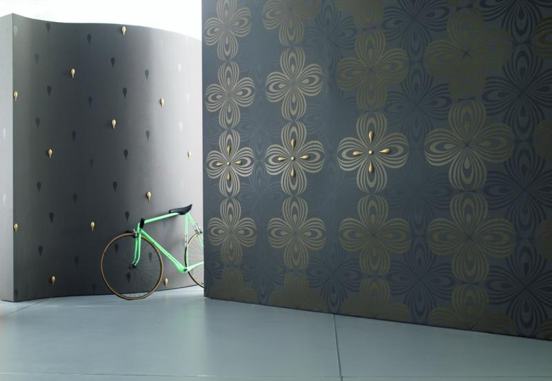 Besondere Tapeten Muster : Moderne Tapeten von Luigi Colani versprechen eine individuelle