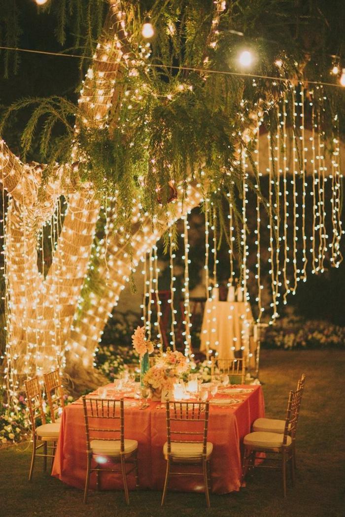 hochzeitsfeier ideen hochzeit planen fest organisieren gartenparty leuchten