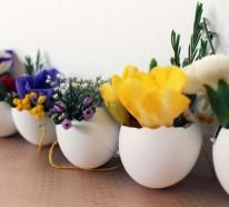 Deko selber machen – 50 Osterdeko Ideen mit Ostereiern und feinen Touches
