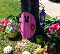 Osterdeko Garten – 40 Interessante Gartenideen für die festliche Dekoration