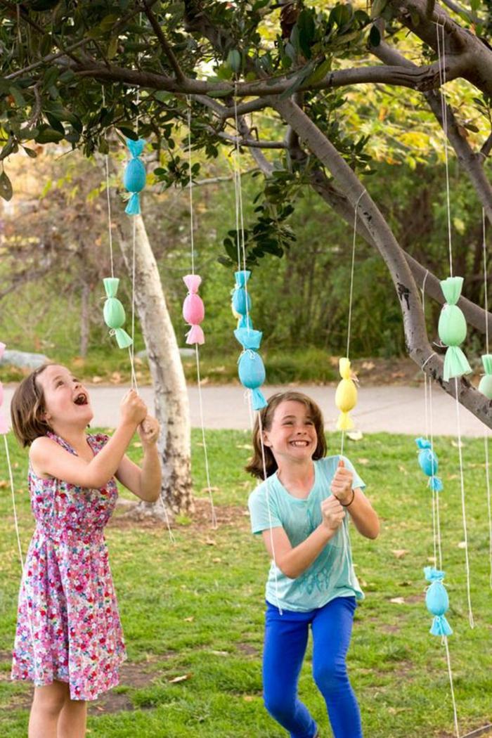 osterdeko garten kinderspiele organisieren lustig